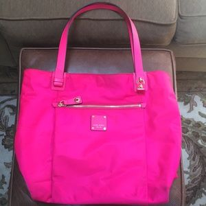 Henri Bendel Hot pink Tote bag